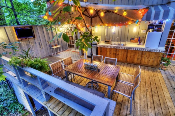 garden patio lighting ideas