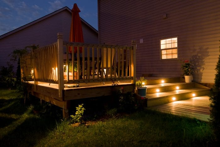patio lighting ideas deck lights