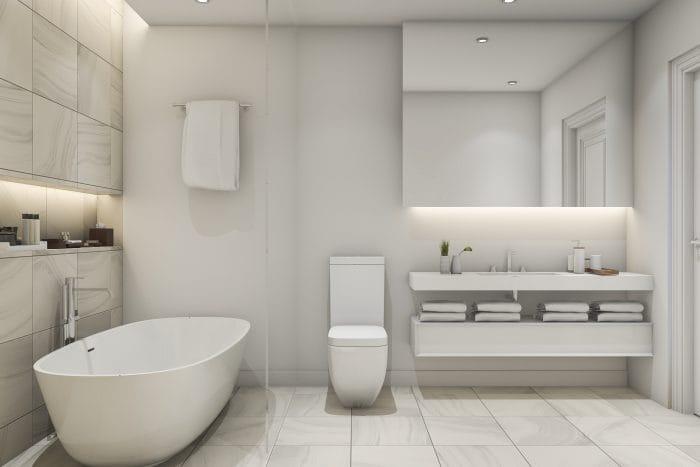 modern bathroom lighting ideas strip lighting