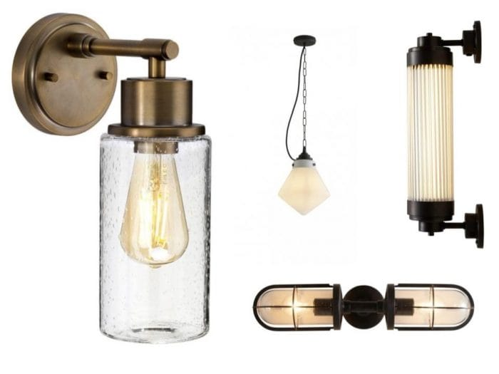 traditional bathroom lighting ideas industrial