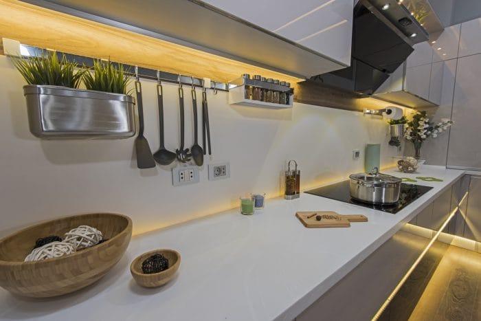 kitchen lights ideas strip lights