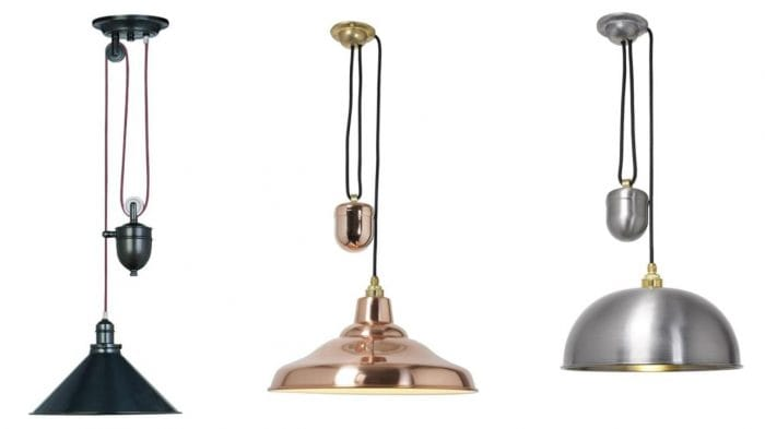 kitchen lights ideas rise and fall