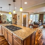 how to hang kitchen island lights