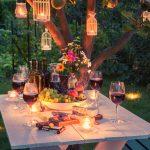 patio lighting ideas lanterns