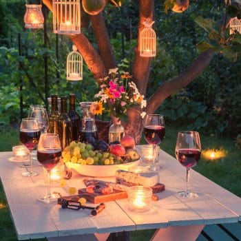patio lighting ideas lanterns