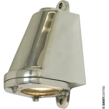 0749 LED Mast Light + LED Lamp, Polished Aluminium, Mains