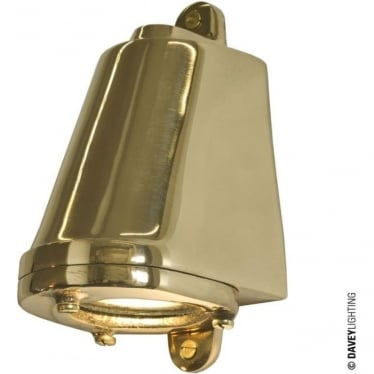 0749 LED Mast Light + LED Lamp, Polished Bronze, Mains