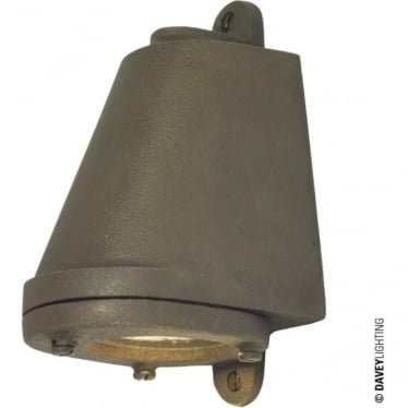 0749 LED Mast Light + LED Lamp, Sandblasted Bronze Weathered, Mains