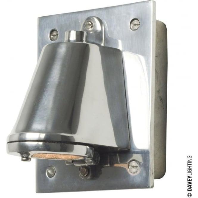 Davey Lighting 0750 Mast Light with cast transformer box, Anodised Aluminium, Mains