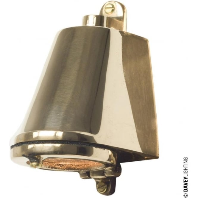 Davey Lighting 0751 Marine Mast Light, Polished Bronze Low Voltage