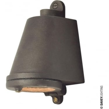 0751 Marine Mast Light, Sandblasted Bronze, Weathered, Low Voltage