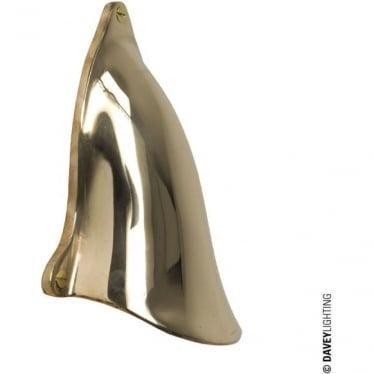 2467 Motorboat ventilator cover, Polished Bronze