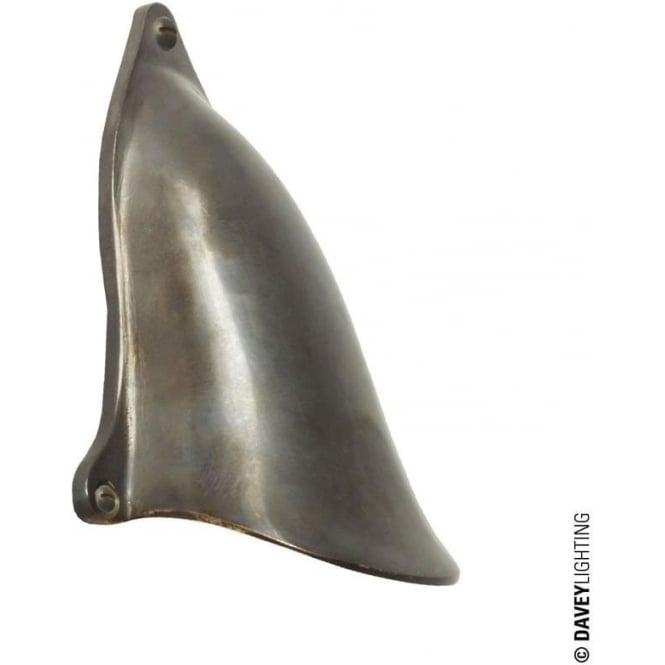 Davey Lighting 2467 Motorboat ventilator cover, Weathered Bronze