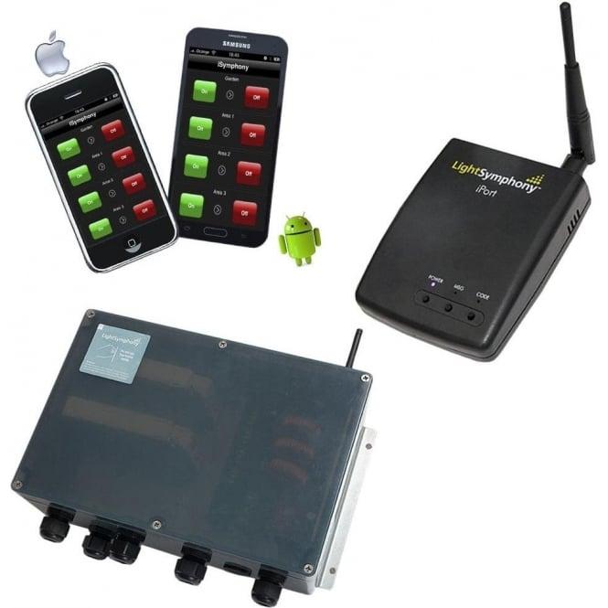 Light Symphony Remote Control 4 Channel Smart Phone Starter Kit