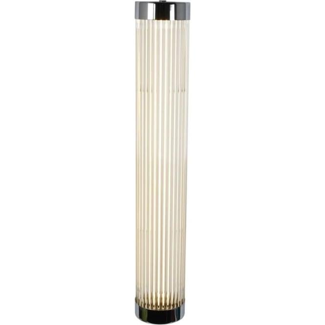 Davey Lighting 7211 Pillar LED Wall Light, Narrow, Chrome Plated, 60cm