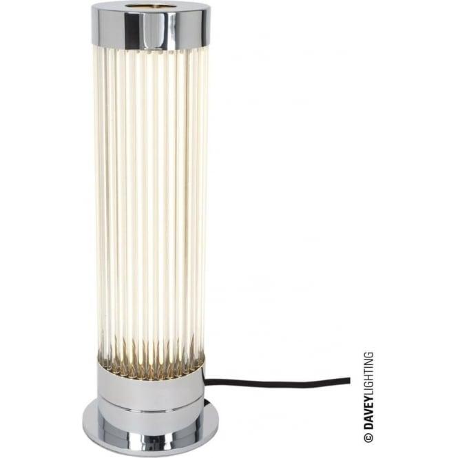 Davey Lighting 7214 Pillar Table Light, Chrome Plated