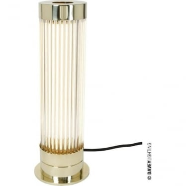 7214 Pillar Table Light, Polished Brass