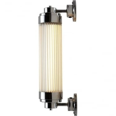 7216 Pillar Offset LED Wall Light, Chrome Plated