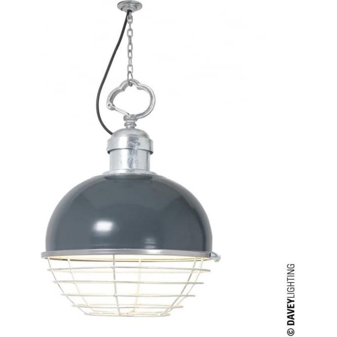 Davey Lighting 7243 Oceanic Large Pendant, Basalt Grey