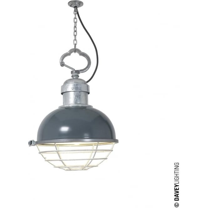 Davey Lighting 7243 Oceanic Pendant, Basalt Grey
