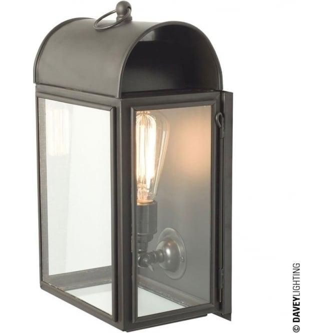 Davey Lighting 7250 Domed Box Wall, Weathered Brass,