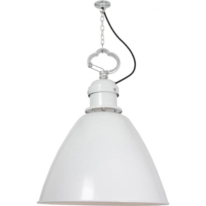 Davey Lighting 7380 Pendant, Medium, White