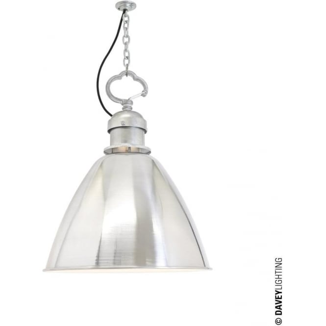 Davey Lighting 7380 Pendant, Small, Aluminium