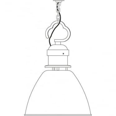 7380 Pendant, Small, Light Grey