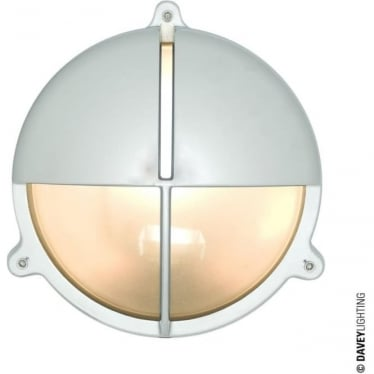 7427 Brass Bulkhead with Eyelid Shield, Chrome Plated, Large