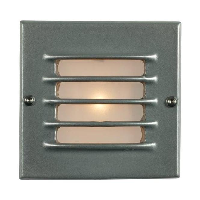 Davey Lighting 7601 Recessed Step Light, Low Voltage, Transformer & Back Box, Painted Aluminium, IP54