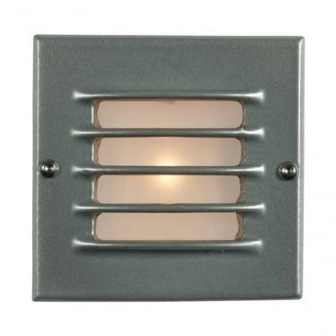 7601 Recessed Step Light, Low Voltage, Transformer & Back Box, Painted Aluminium, IP54