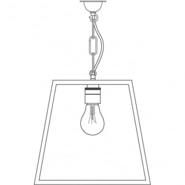 7636 Quad Pendant, Medium, Satin Nickel, Clear