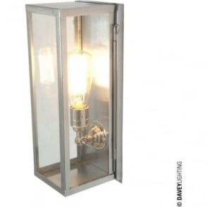 7650 Narrow Box, Internally Glazed Clear, Polished Nickel