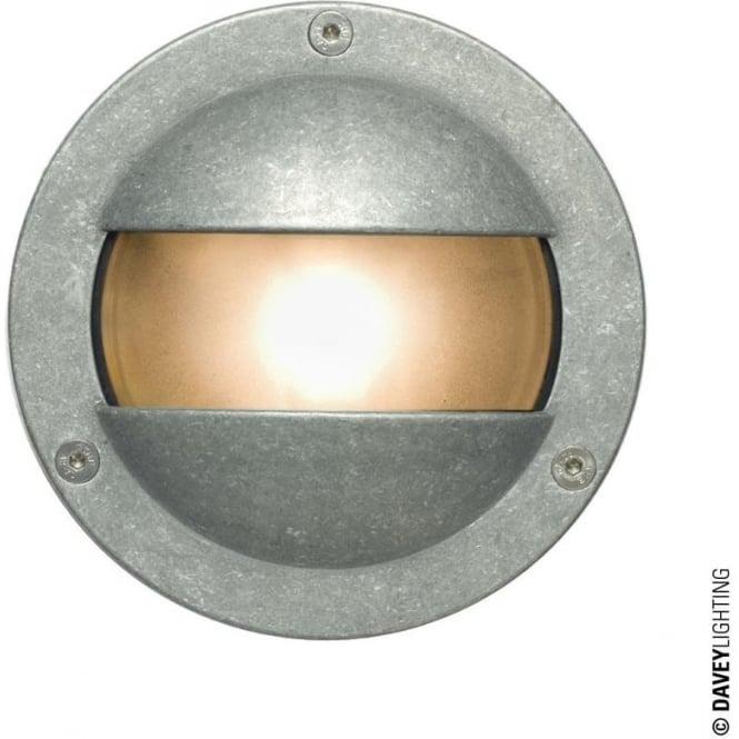 Davey Lighting 8037 Miniature Round Bulkhead, Double Shield, G9, Aluminium
