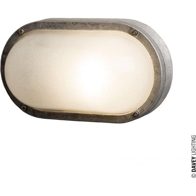 Davey Lighting 8120 Oval Aluminium Bulkhead, E27