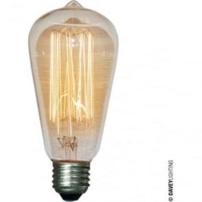 9905 Squirrel Cage Lamp, 60W, ES