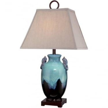 Amphora Ceramic Table Lamp