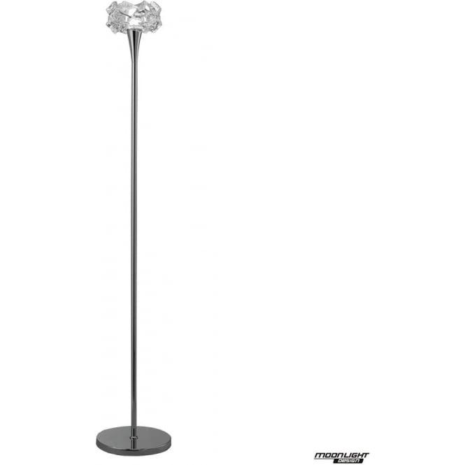 Mantra Artic Single Light Floor Lamp Polished Chrome