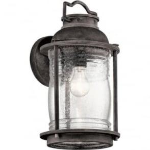 Ashland Bay Large Wall Lantern Weathered Zinc