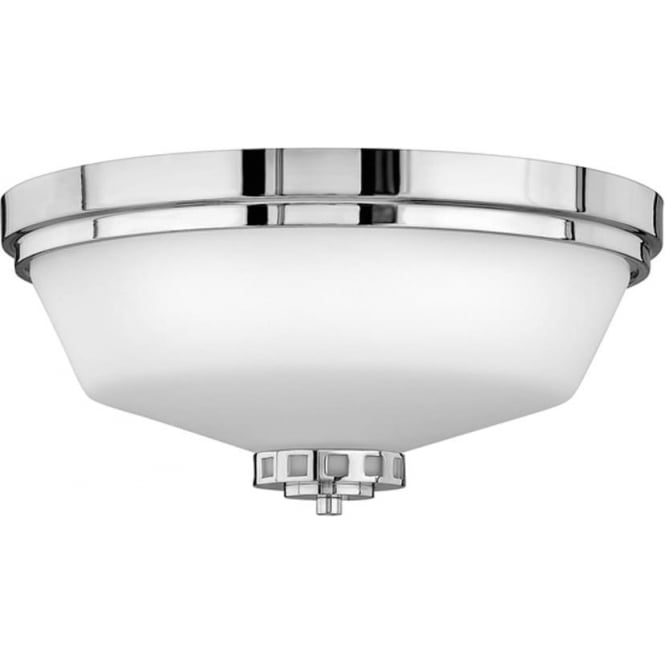 Hinkley Lighting Ashley Flush Mount Fitting Polished Chrome