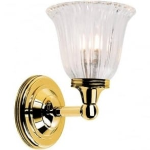 Austen Single Wall Light Polished Brass