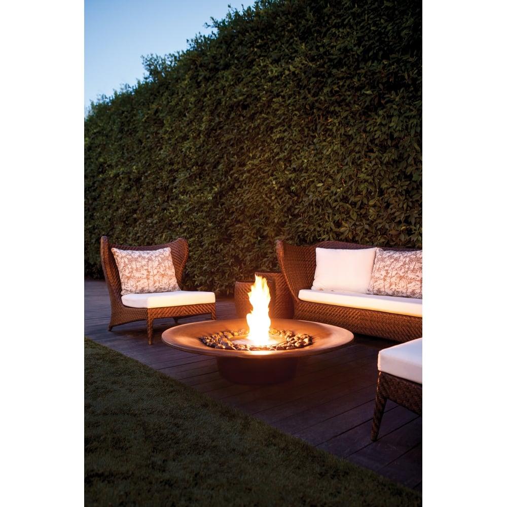 ecosmart fire ayre fire bowl outdoor fireplace ecosmart. Black Bedroom Furniture Sets. Home Design Ideas
