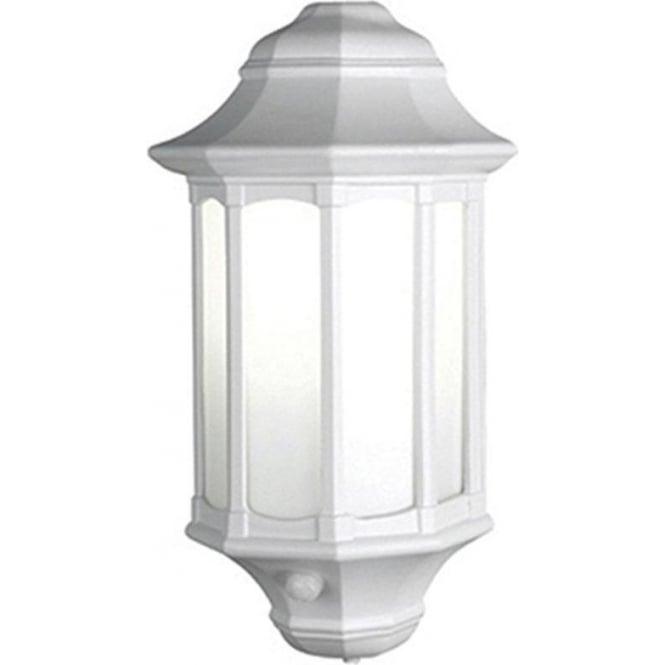 Elstead Lighting Azure Low Energy 8 with PIR - White