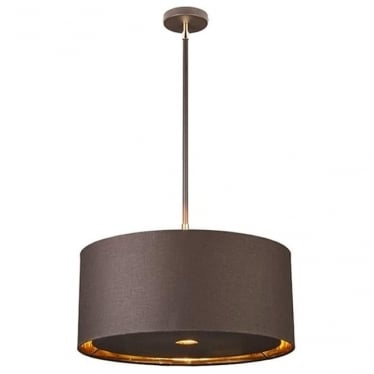 Balance Pendant Brown/Polished Brass