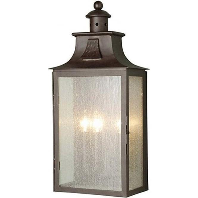 Elstead Lighting Balmoral Wall Lantern - Old Bronze