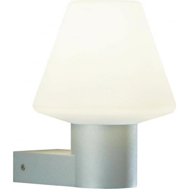 Konstsmide Garden Lighting Barletta wall lamp - aluminium 7271-302