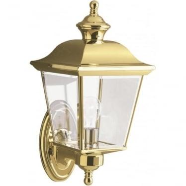 Bay Shore Medium Outdoor Wall Light  Polished Brass