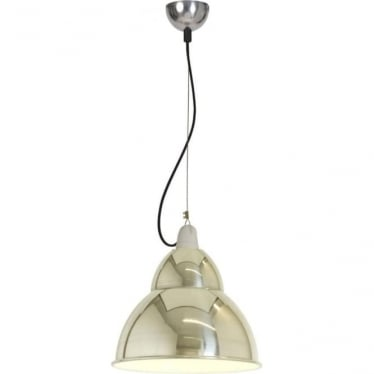 BB1 pendant light - Polished aluminium