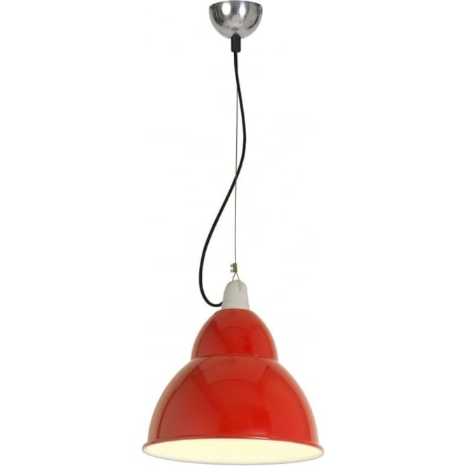 Original BTC Lighting BB1 pendant light - Red