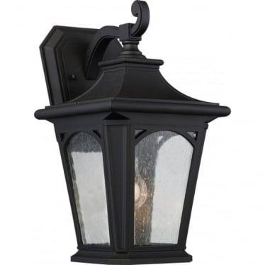 Bedford Medium Wall Lantern Mystic Black